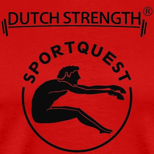 Dutch Strength & Sportquest - Mannen Premium T-shirt