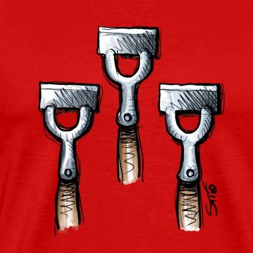 Funny Christmas Xmas Pun Hoe! Hoe! Hoe! - Men's Premium T-Shirt