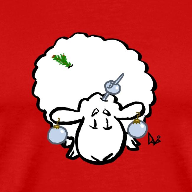 Pecore dell'albero di Natale
