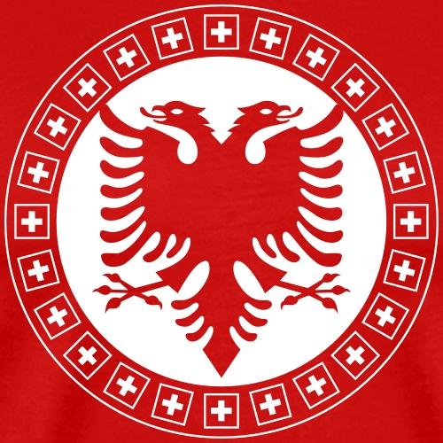 Albanien Schweiz Shirt - Männer Premium T-Shirt