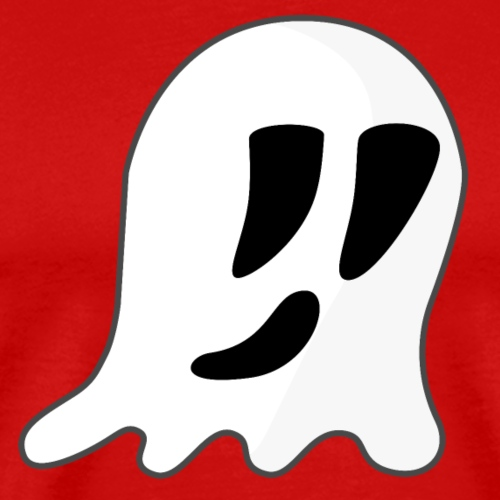 Cartoon Ghost - Men's Premium T-Shirt