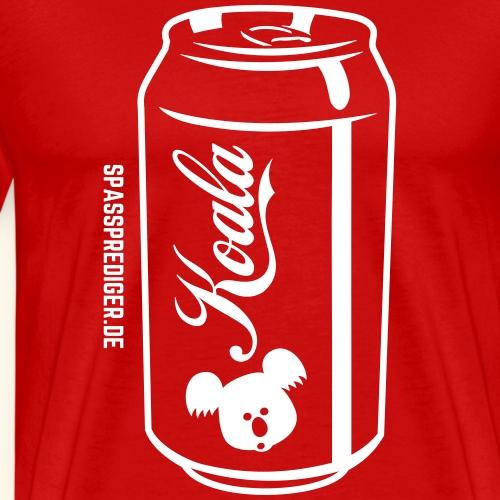 Can of Koala T Shirt Design - Männer Premium T-Shirt