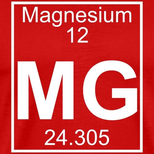 Magnesium (Mg) (element 12) - Men's Premium T-Shirt