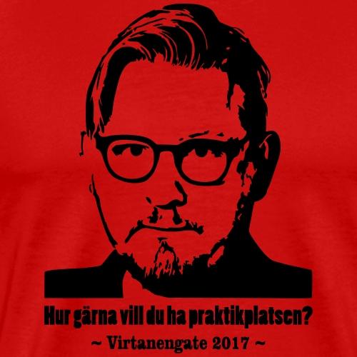 Virtanengate 2017 - Premium-T-shirt herr