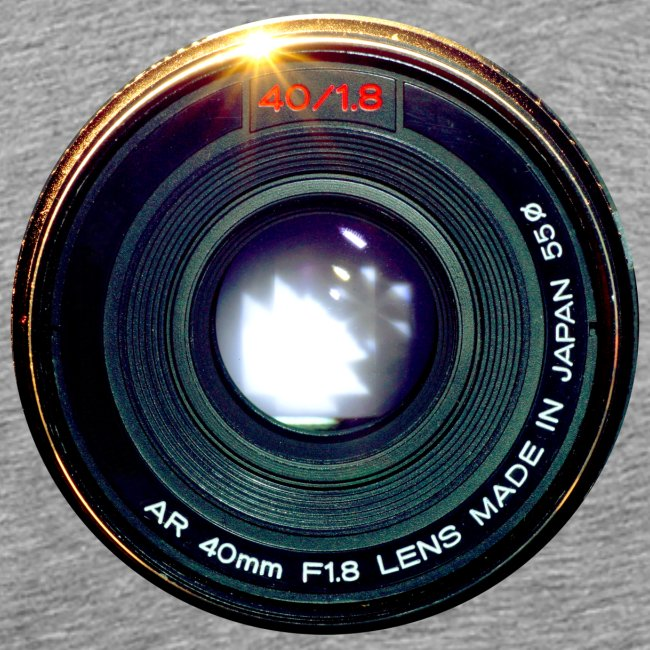Vintage Pancake Lens