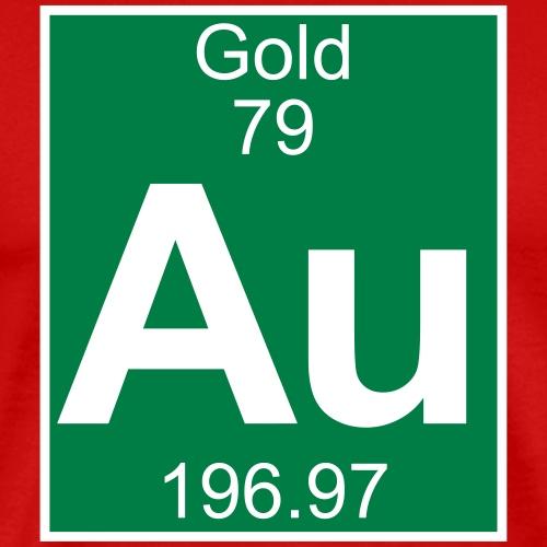 Gold (Au) (element 79) - Men's Premium T-Shirt