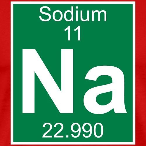Sodium (Na) (element 11) - Men's Premium T-Shirt