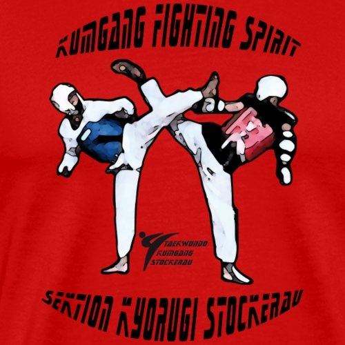 Kumgang Fighting Spirit - Männer Premium T-Shirt
