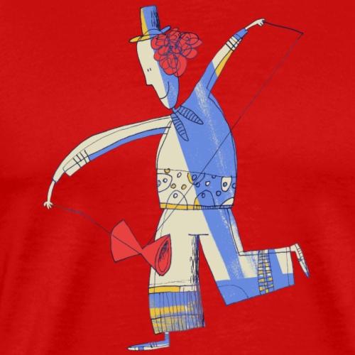 Diabolo Juggler 002 - Mannen Premium T-shirt