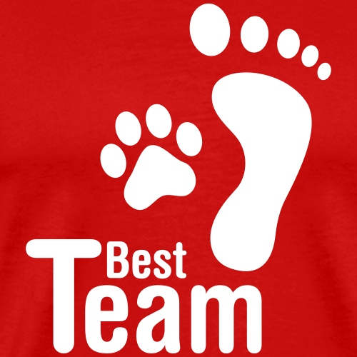 best team dog - Men's Premium T-Shirt