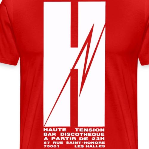 HAUTE TENSION - VINTAGE GAY LOGO - T-shirt Premium Homme