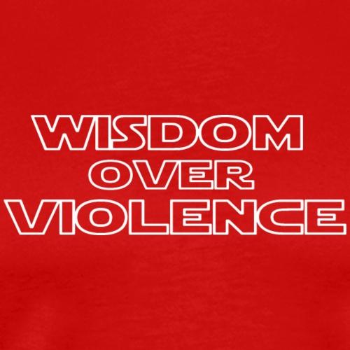 wisdom white - Men's Premium T-Shirt