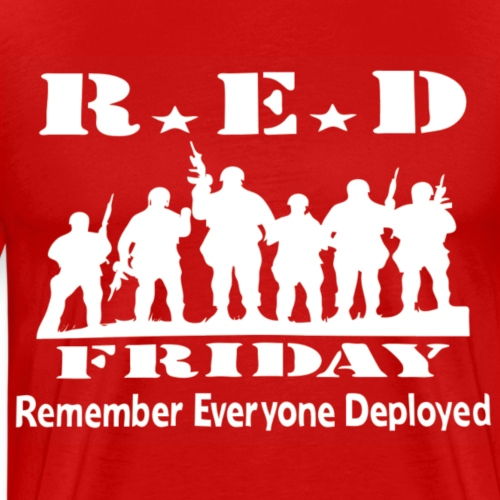 RED FRIDAY - Premium-T-shirt herr