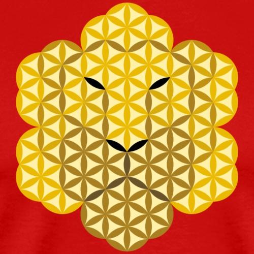 The Lion Of Life - Alpha Male, Crown 01 - Men's Premium T-Shirt