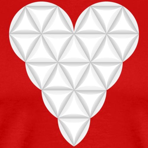nThe Heart of Life x 1, New Design /Atlantis - 02. - Men's Premium T-Shirt