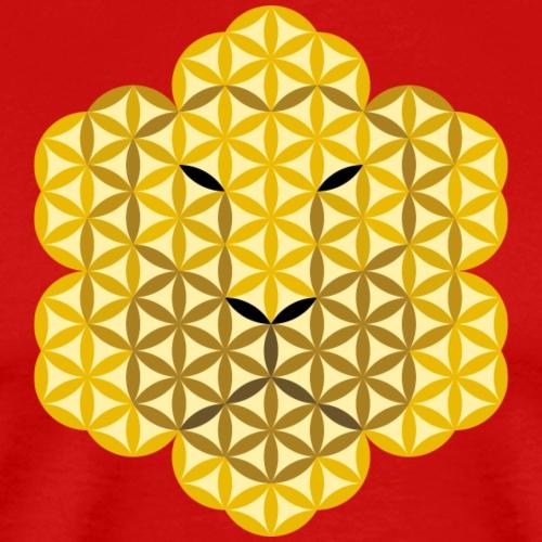 The Lion Of Life - Alpha Male, Mane 01. - Men's Premium T-Shirt