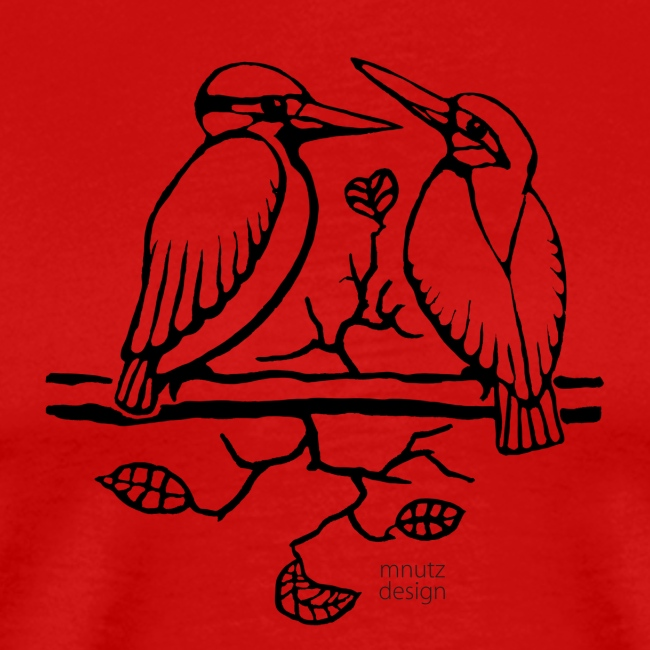 Eisvogel Liebe