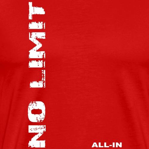 no limit poker - T-shirt Premium Homme