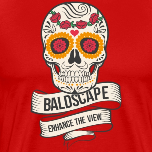 Skull Design by Baldscape - Men's Premium T-Shirt