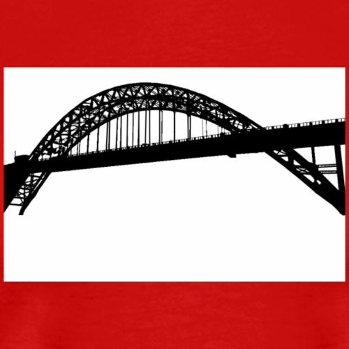 Newcastle Tyne Bridge - Men's Premium T-Shirt