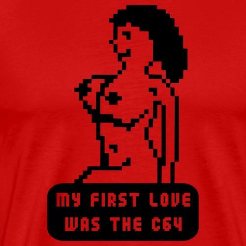 My first love - Premium-T-shirt herr