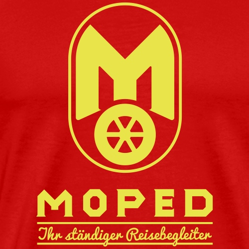 Moped - your constant travel companion - Men's Premium T-Shirt