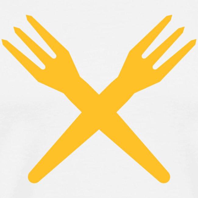 gekruiste frietvorken - trident