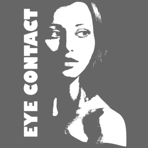 Eye Contact - White Edition - Männer Premium T-Shirt