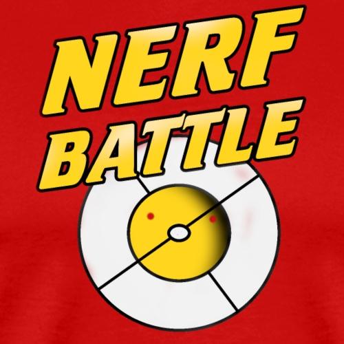 Nerfbattle mit Zielscheibe - Männer Premium T-Shirt