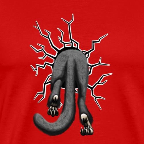 Hetronos hinten grau stuck - Männer Premium T-Shirt