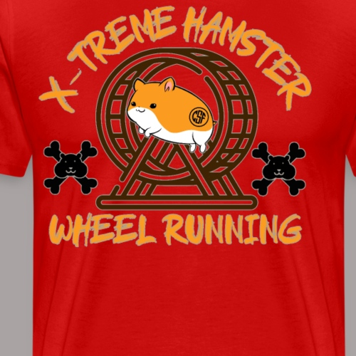 X-Treme Hamster Wheel Running - Männer Premium T-Shirt
