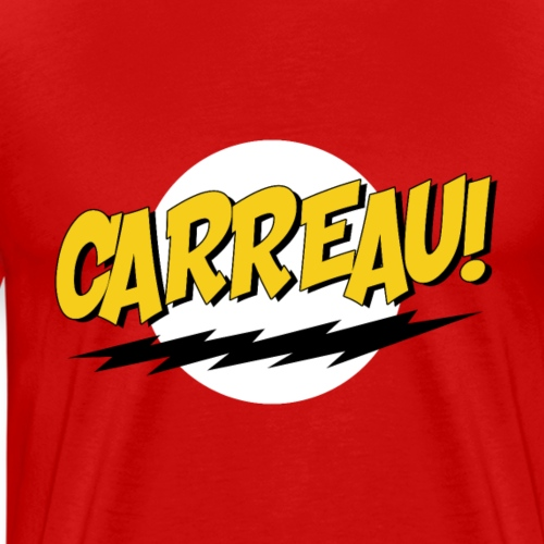 Carreau! - Mannen Premium T-shirt