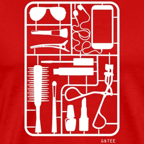 Handbag Kit Tote Red - Men's Premium T-Shirt