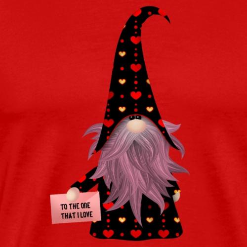 Zauberer mit der Liebeskarte - Männer Premium T-Shirt