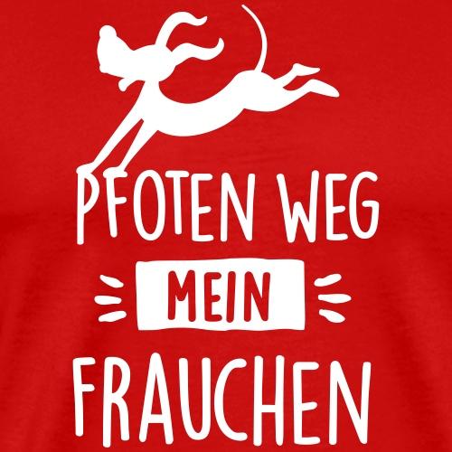 pfoten weg - Männer Premium T-Shirt
