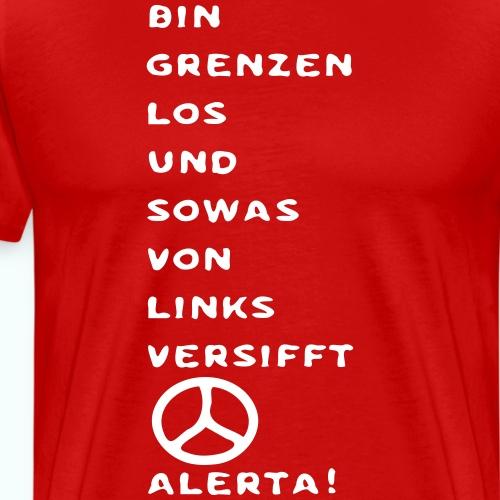 linksversifft - Männer Premium T-Shirt