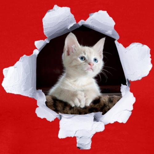 Poes Kitten - Mannen Premium T-shirt