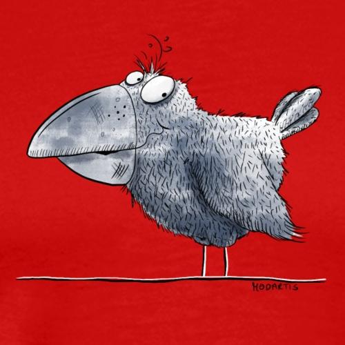 Kleiner Rabe I Krähe I Vogel Comic - Männer Premium T-Shirt