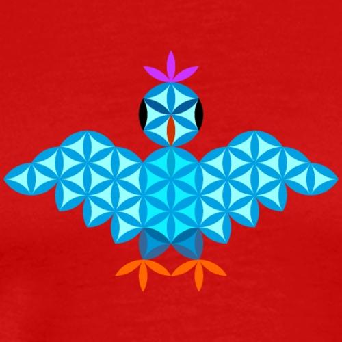 The Bird Of Life - Sacred Animals - Men's Premium T-Shirt