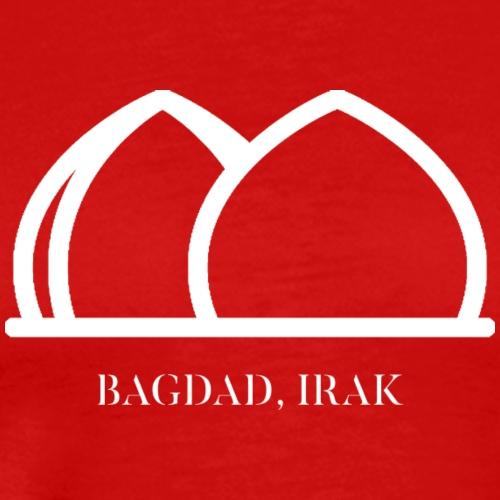 AL SHAHEED MONUMENT BAGDAD IRAK - WHITE - T-shirt Premium Homme