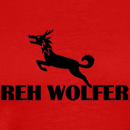 Reh Wolver - Männer Premium T-Shirt