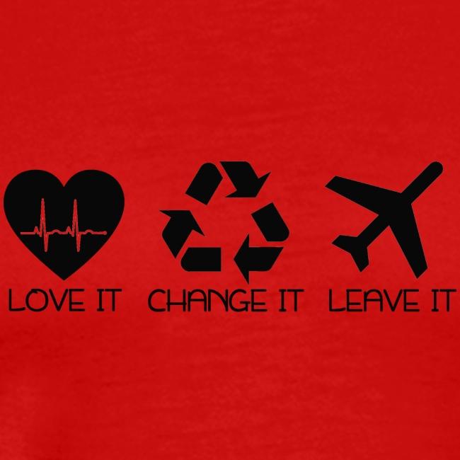 love it change it or leave it - für Entscheider