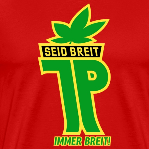 Young pioneers hemp leaf - Men's Premium T-Shirt