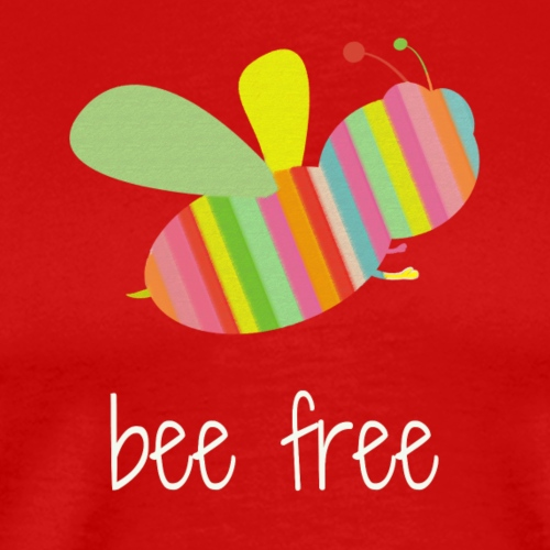 bee free tank - Men's Premium T-Shirt