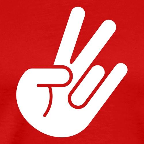 JDM Peace Hand 1c - Men's Premium T-Shirt