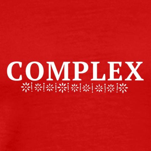 Complex Flowers - Men's Premium T-Shirt