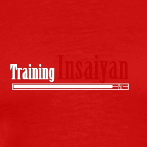 Training Insaiyan - Mannen Premium T-shirt