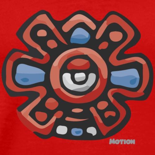 Aztec Motion Earth - Men's Premium T-Shirt
