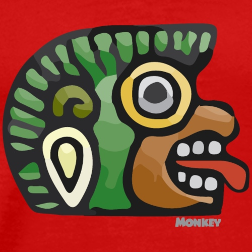 Aztec Icon Monkey - Men's Premium T-Shirt