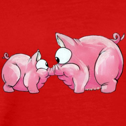 Piggies - Herre premium T-shirt